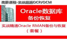实战精通Oracle RMAN备份与恢复(基础、案例、高级)视频课程专题
