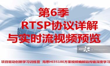 RTSP协议详解与实时流视频预览-第6/9季视频课程