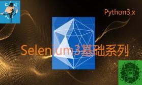Python3 Selenium3 软件自动化测试基础系列视频课程