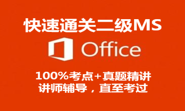 [一套搞定]计算机二级MS-Office视频课程