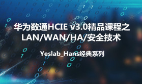 Yeslab_Hans华为数通HCIA/HCIP/HCIE经典系列之IE01-LAN/WAN/HA