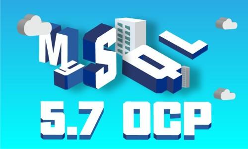 MySQL 5.7 OCP通关秘籍
