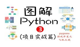 图解Python(3)(项目实战篇)pygame游戏开发之飞机大战