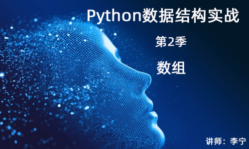 Python数据结构与算法实战(2):数组
