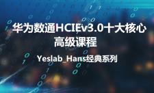 华为数通HCIEv3.0核心十大课程内容