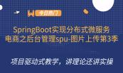 16天SpringBoot实现分布式微服务电商项目