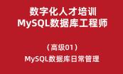 数字化人才培训-MySQL数据库工程师(中级)