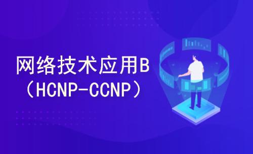 网络技术应用B(HCNP、CCNP)